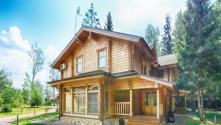 Спрос на деревянные дома вырос на 7%