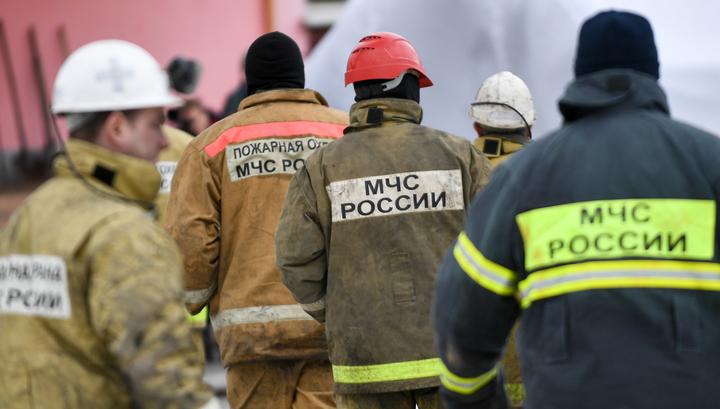 Обрушение в бизнес-центре в Москве: есть пострадавшие
