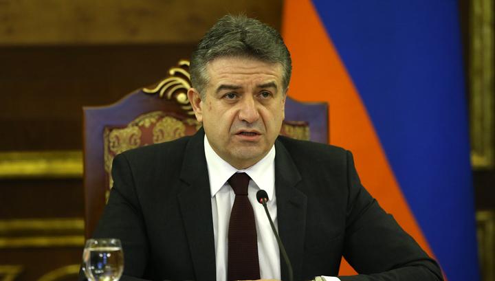 Путин и Карапетян подчеркнули важность избрания премьера Армении парламентом