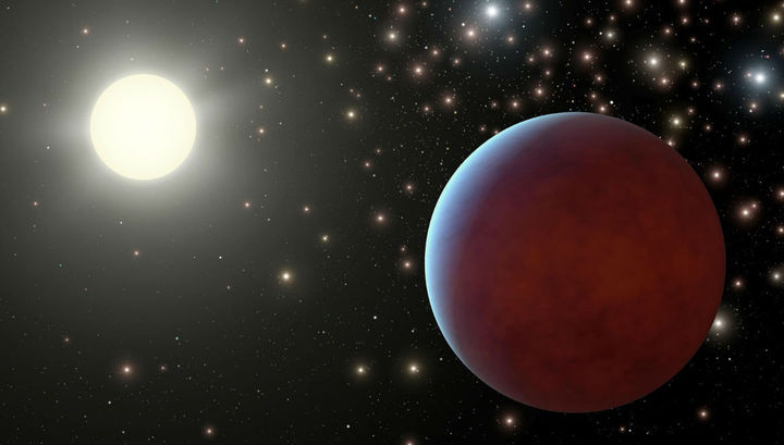 Астрономы обнаружили у солнцеподобной звезды невероятно тёмную планету