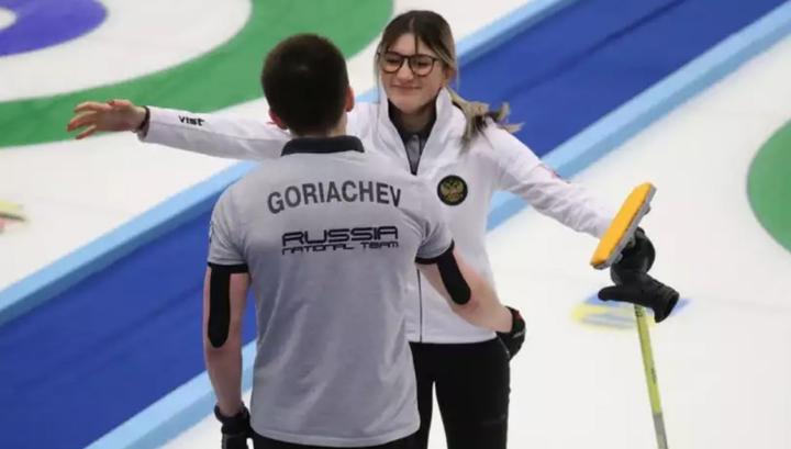 Комарова и Горячев обыграли норвежцев на этапе Кубка мира по керлингу