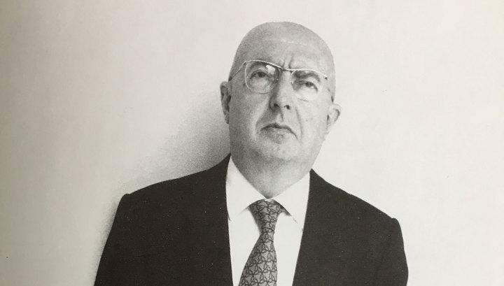 Профессор Страда скончался за месяц до 89-летия
