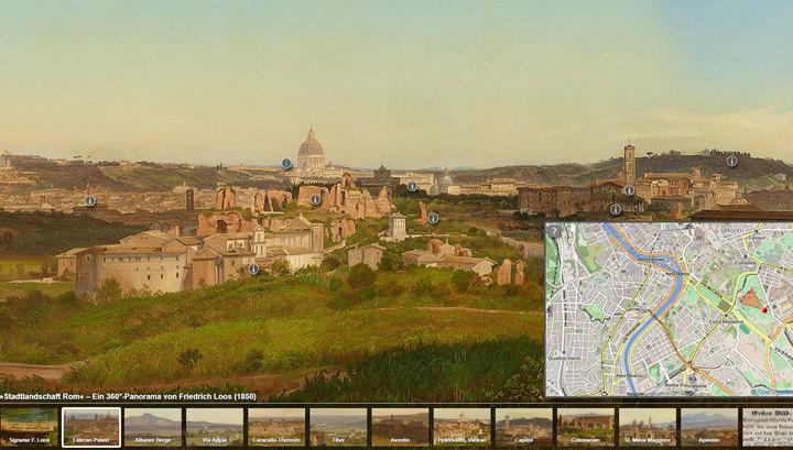 Берлинские музейщики опубликовали Google Maps XIX века