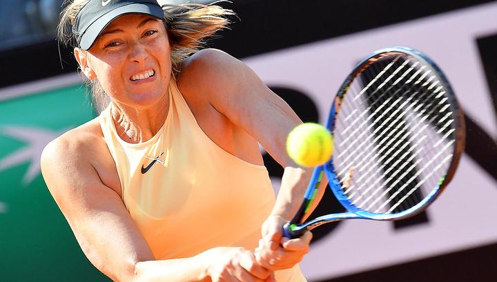 Шарапова победила чемпионку Roland Garros Остапенко