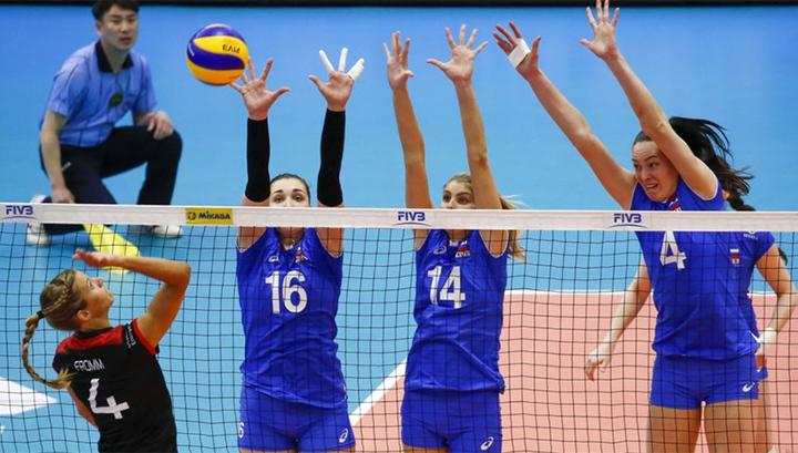Лига наций. Российские волейболистки уступили американкам