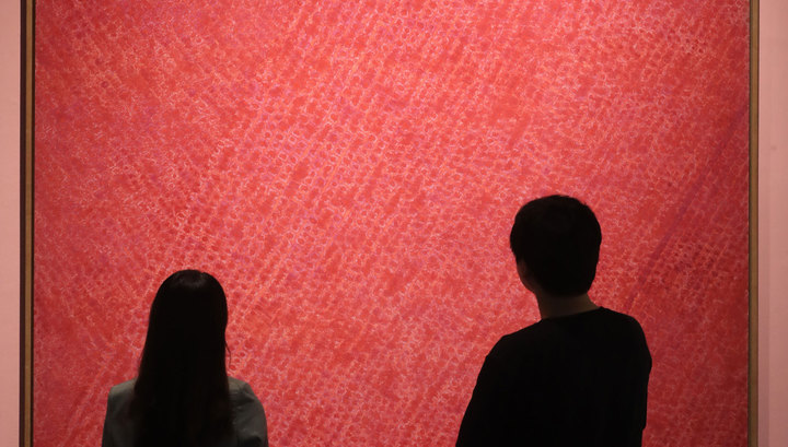 Картину абстракциониста Кима Ван Ки продали за рекордную сумму