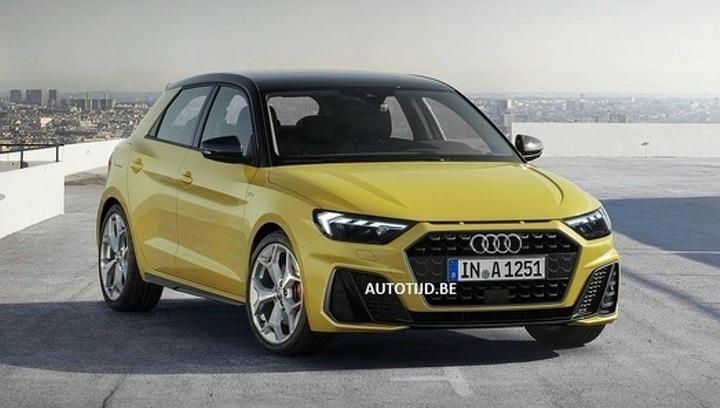 Вот как будет выглядеть самый маленький Audi