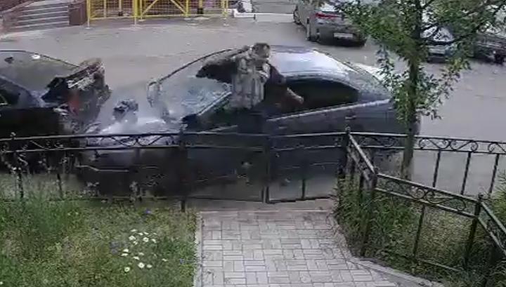 Пьяный калужский водитель сбил пешехода и скрылся