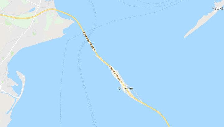 Google исправился: Крымский мост на картах получит корректное отображение