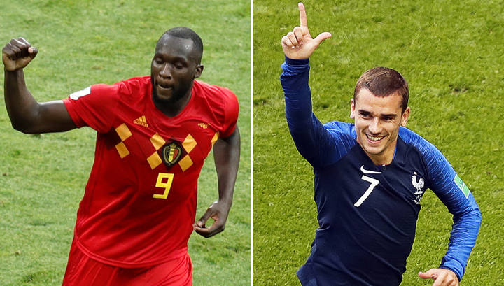 Букмекеры: шансы Франции и Бельгии почти равны, Лукаку и Гризманн забьют