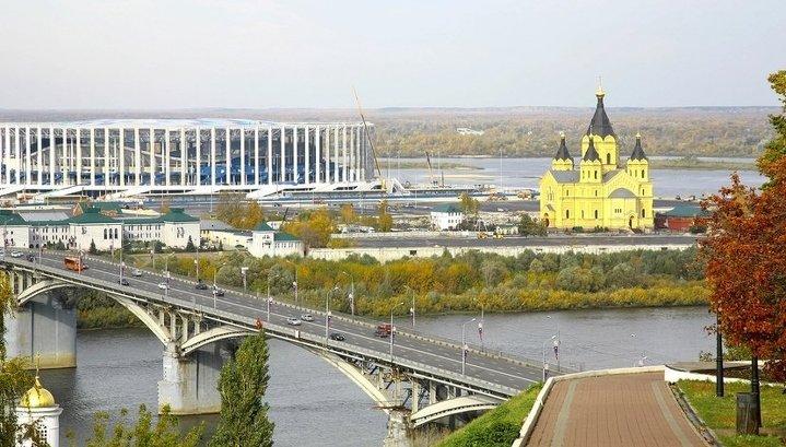 В Нижнем Новгороде ливень разрушил набережную, благоустроенную к ЧМ