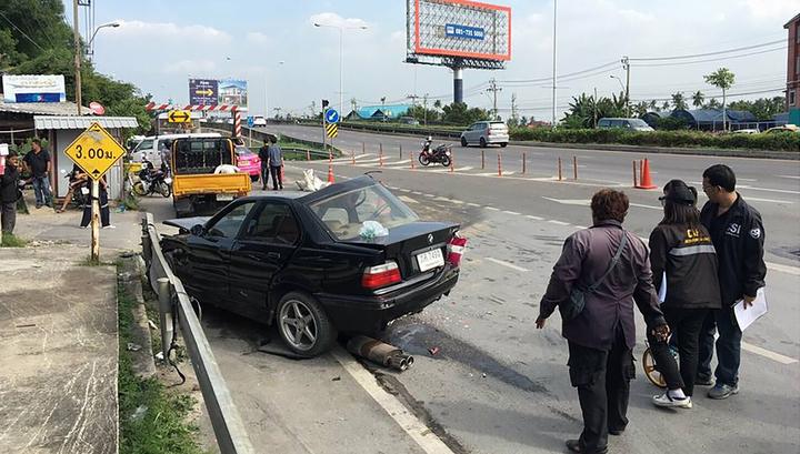 Крупная авария в Таиланде: шесть человек погибли, 13 получили травмы