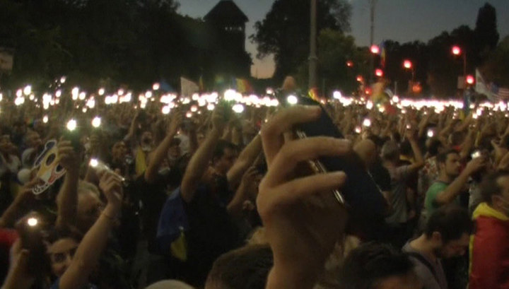 Протесты в Румынии не стихают