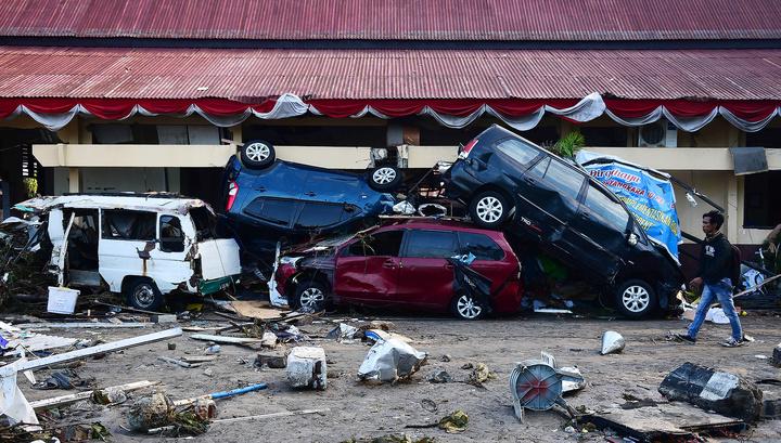 Цунами унесло жизни 43 человек в Индонезии photo