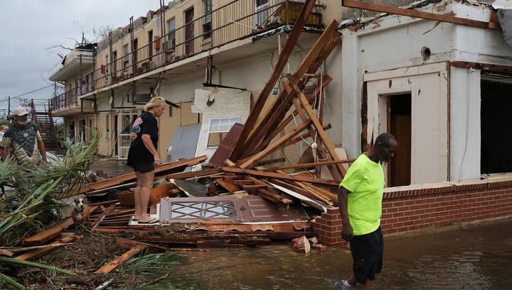 """Число погибших от урагана """"Майкл"""" в США увеличилось до 29 человек"""