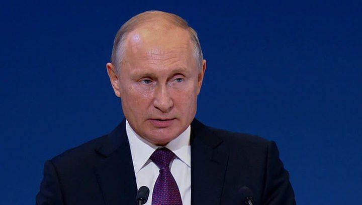 """Путин: """"ткань мировой экономики"""" разрывают при помощи санкций"""