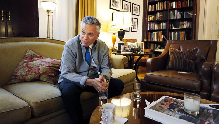 Посол США в России Джон Хантсман полетит на родину лечиться от рака