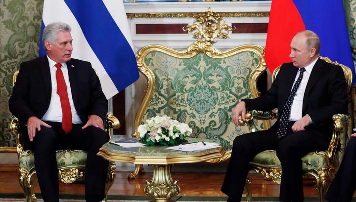 Путин и Кастро обменялись приветами через Диас-Канеля