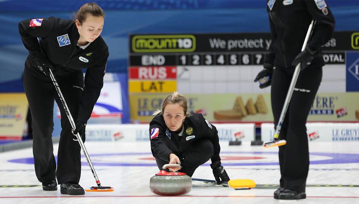 Женская сборная России по керлингу уступила американкам на этапе Кубка мира в США