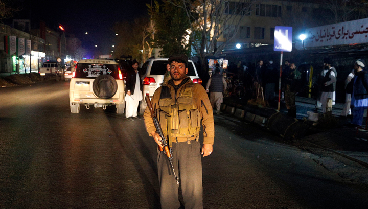 На свадьбе в Кабуле прогремел взрыв