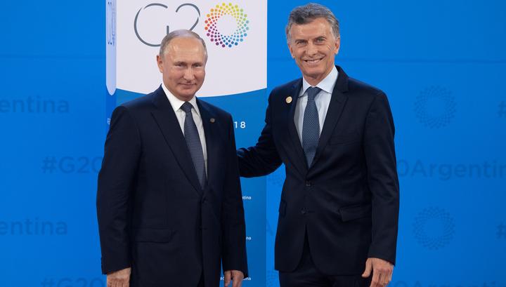 Россия - Аргентина: первые итоги экономических переговоров