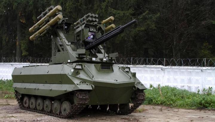 Российские боевые роботы будут самостоятельно применять оружие