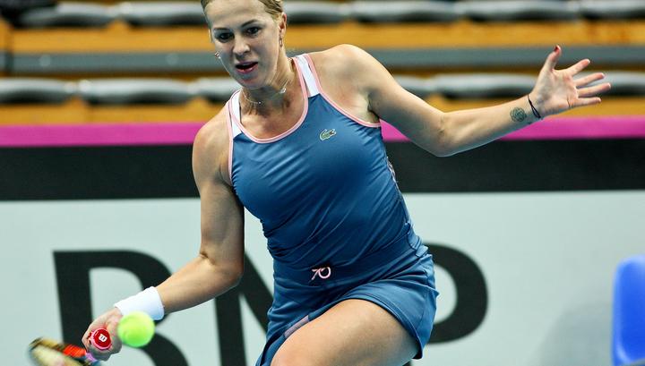 Анастасия Павлюченкова вышла в следующий круг турнира в Штутгарте
