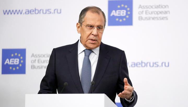 Лавров: Украина пытается привлечь НАТО к очередной провокации в Керченском проливе
