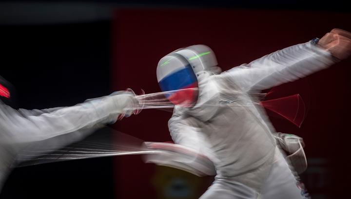 Российские фехтовальщики выиграли три медали чемпионата Европы