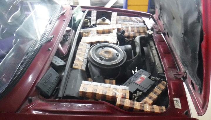 Сигаретная контрабанда: сочинские пограничники задержали четыре машины