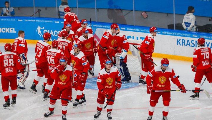 Российские хоккеисты обыграли Францию в матче Еврочелленджа