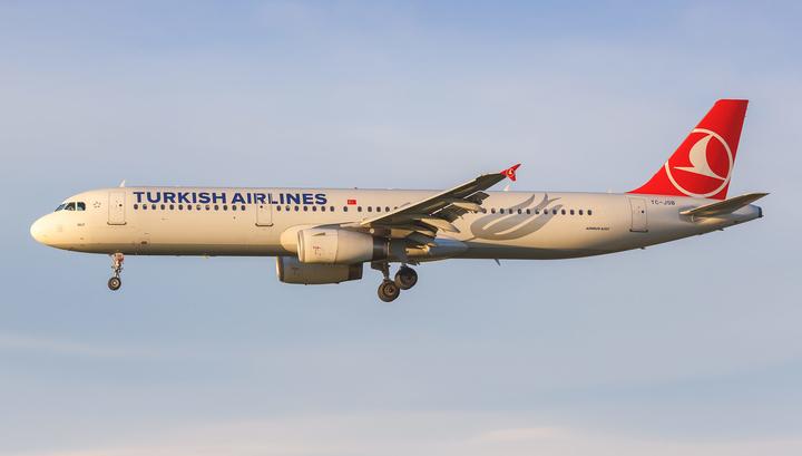 Экстренную посадку в аэропорту Софии совершил самолет турецкой авиакомпании