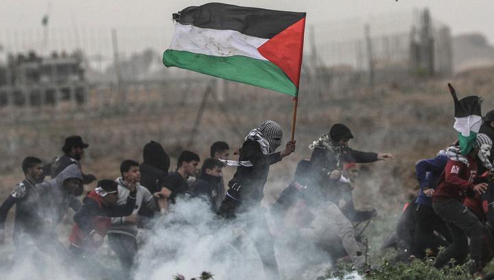 Столкновения в секторе Газа: один палестинец убит, пятьдесят ранены