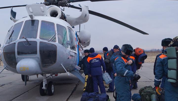 На Дальний Восток к реке Бурее доставлена группа спасателей