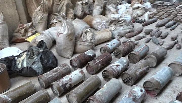 В лагере Ярмук под Дамаском обнаружен схрон ИГИЛ