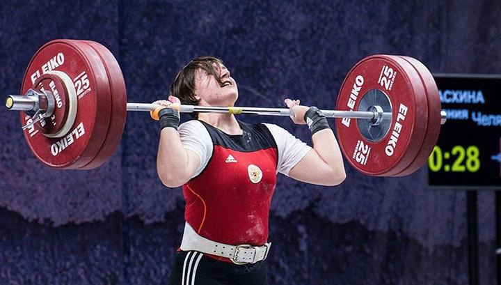 Ксения Пасхина стала чемпионкой Европы по тяжелой атлетике