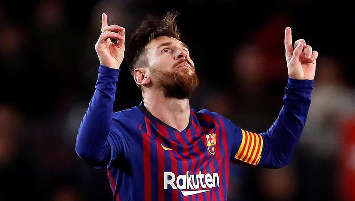 Лионель Месси назван лучшим игроком недели в Лиге чемпионов