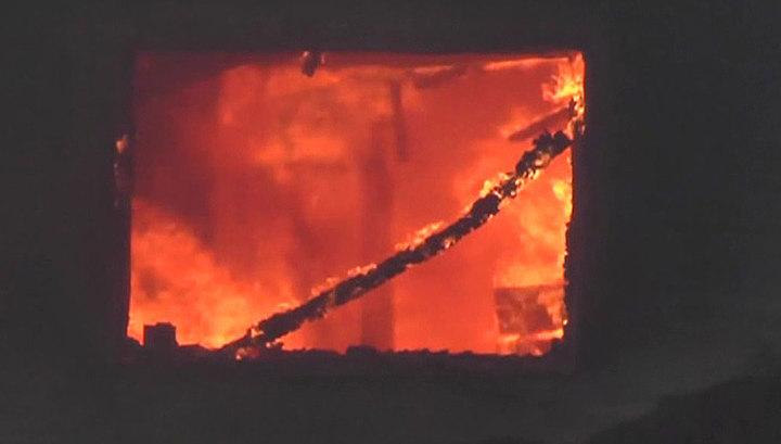 Пожар в жилом доме в Хабаровске: один человек погиб, 16 эвакуированы