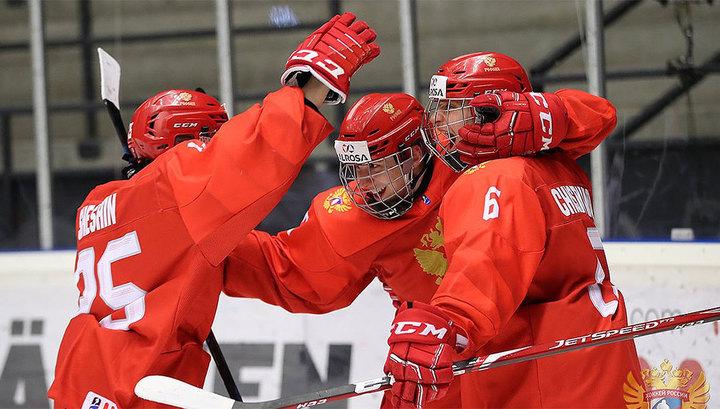 Российские юниоры завоевали серебро чемпионата мира по хоккею