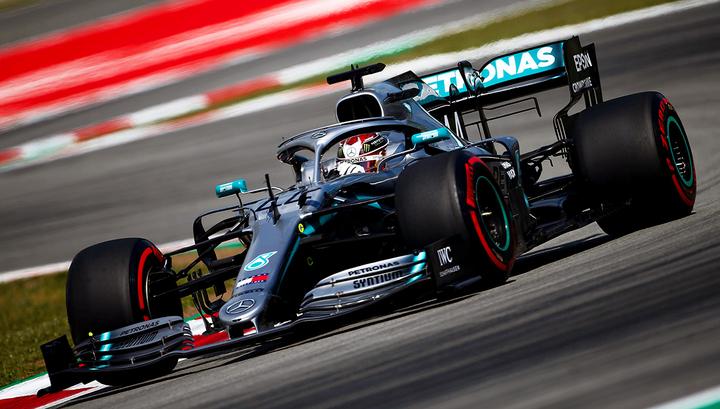 Формула-1. Хэмилтон выиграл третью практику Гран-при Испании