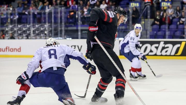 Сборная Канады обыграла команду Франции в матче чемпионата мира