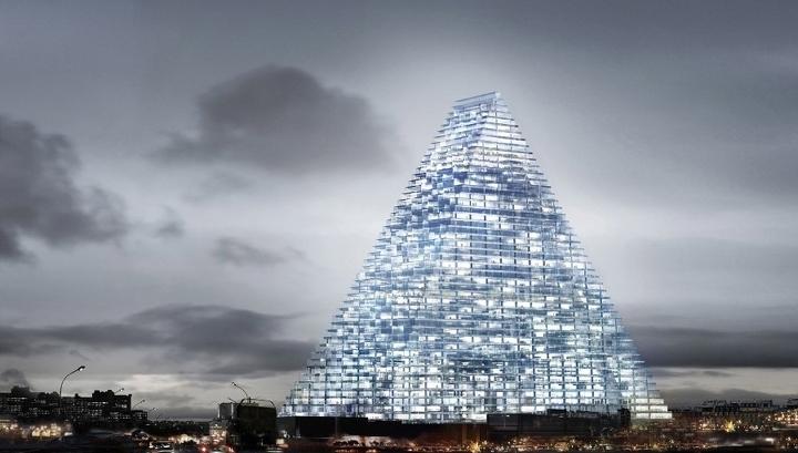 Громадный треугольник: в Париже построят первый за 50 лет небоскреб