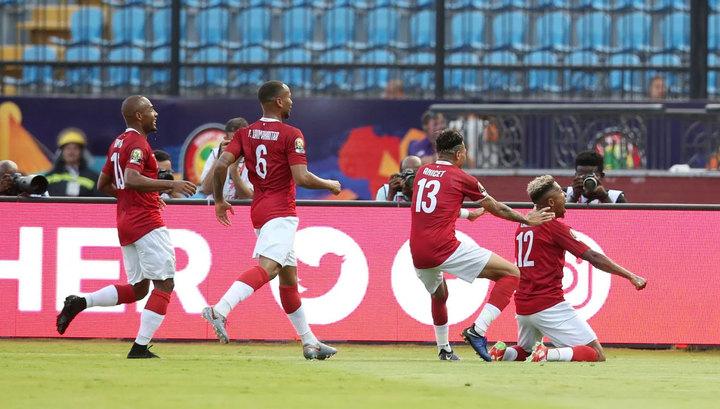Мадагаскар в дебютном Кубке Африки вышел в 1/8 финала