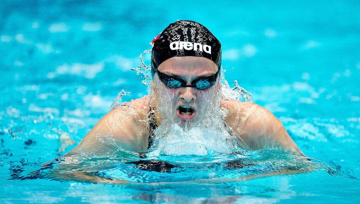 Симонова завоевала бронзу этапа Кубка мира по плаванию