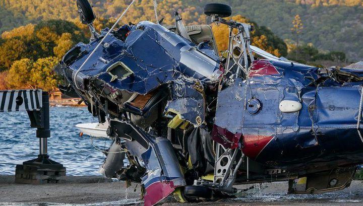 Момент крушения вертолета с россиянами в Греции попал на видео