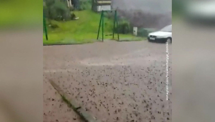 В Приморье вода ушла из всех домов, подтопленных ливнями