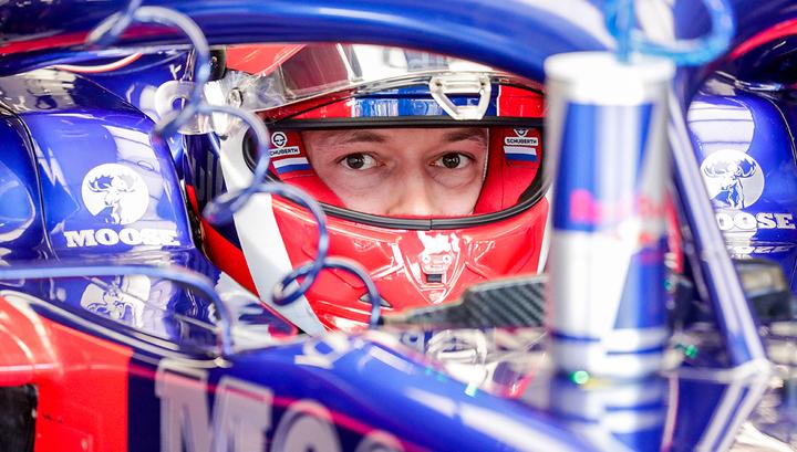 Даниил Квят: машина лучше работает в напряженных гонках