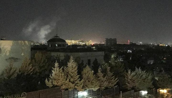 В годовщину терактов 9/11 у посольства США в Кабуле устроили взрыв