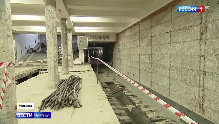Самая короткая линия метро Москвы закрывается с 26 октября на масштабную реконструкцию