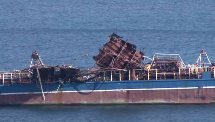 """Возобновлены поиски пропавшего члена экипажа танкера """"Залив Америка"""""""
